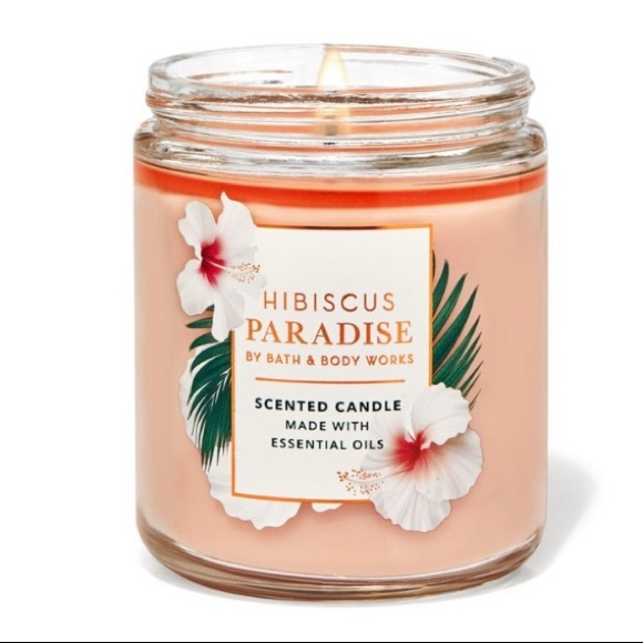🆕HIBISCUS PARADISE SINGLE WICK CANDLE